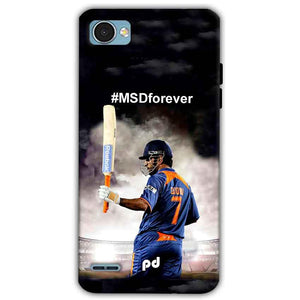 LG Q6 Mobile Covers Cases MS dhoni Forever - Lowest Price - Paybydaddy.com