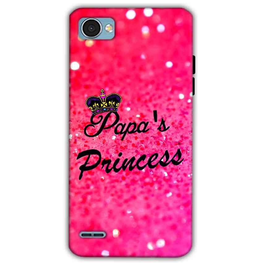 LG Q6 Mobile Covers Cases PAPA PRINCESS - Lowest Price - Paybydaddy.com