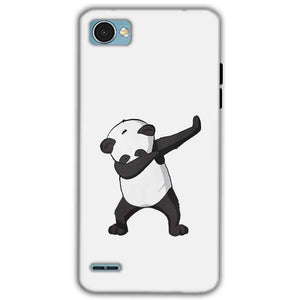 LG Q6 Mobile Covers Cases Panda Dab - Lowest Price - Paybydaddy.com
