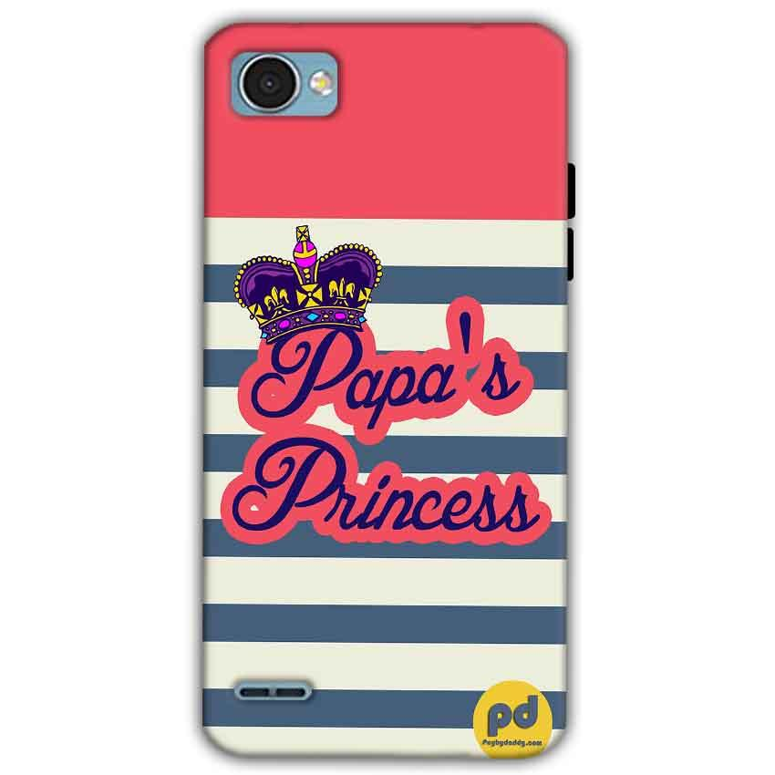LG Q6 Mobile Covers Cases Papas Princess - Lowest Price - Paybydaddy.com