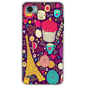 LG Q6 Mobile Covers Cases Paris Sweet love - Lowest Price - Paybydaddy.com