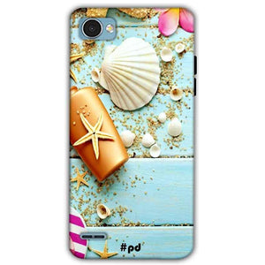 LG Q6 Mobile Covers Cases Pearl Star Fish - Lowest Price - Paybydaddy.com