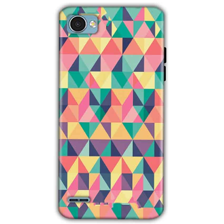 LG Q6 Mobile Covers Cases Prisma coloured design - Lowest Price - Paybydaddy.com
