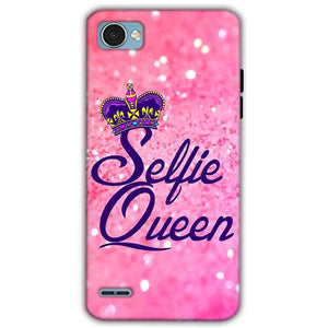 LG Q6 Mobile Covers Cases Selfie Queen - Lowest Price - Paybydaddy.com