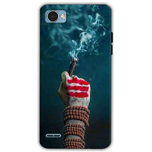 LG Q6 Mobile Covers Cases Shiva Hand With Clilam - Lowest Price - Paybydaddy.com