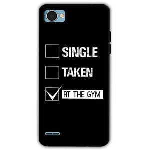 LG Q6 Mobile Covers Cases Single Taken At The Gym - Lowest Price - Paybydaddy.com