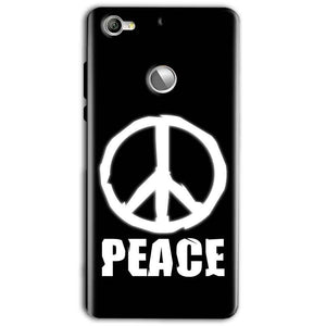 LeEco LeTv 1s Mobile Covers Cases Peace Sign In White - Lowest Price - Paybydaddy.com