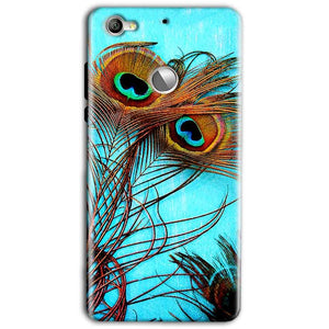 LeEco LeTv 1s Mobile Covers Cases Peacock blue wings - Lowest Price - Paybydaddy.com