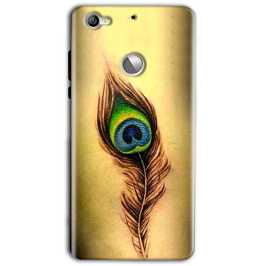 LeEco LeTv 1s Mobile Covers Cases Peacock coloured art - Lowest Price - Paybydaddy.com