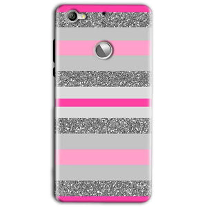 LeEco LeTv 1s Mobile Covers Cases Pink colour pattern - Lowest Price - Paybydaddy.com