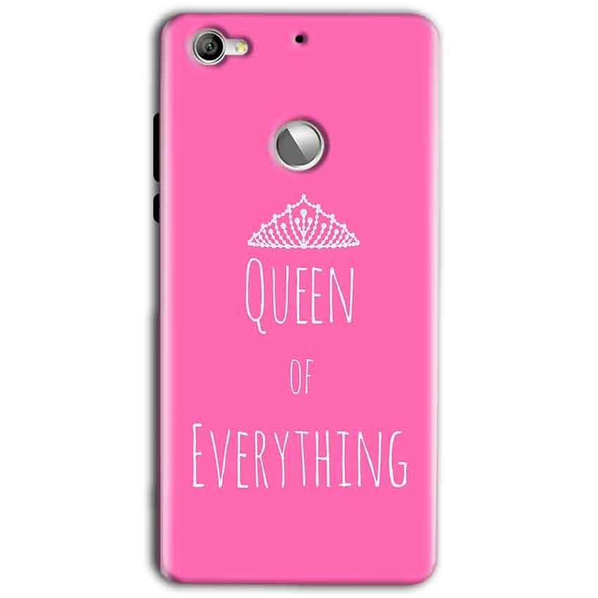 LeEco LeTv 1s Mobile Covers Cases Queen Of Everything Pink White - Lowest Price - Paybydaddy.com