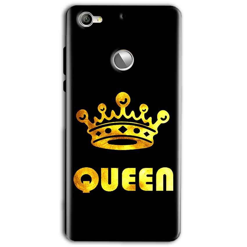 LeEco LeTv 1s Mobile Covers Cases Queen With Crown in gold - Lowest Price - Paybydaddy.com