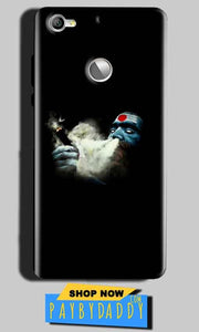 LeEco LeTv 1s Mobile Covers Cases Shiva Aghori Smoking - Lowest Price - Paybydaddy.com