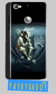 LeEco LeTv 1s Mobile Covers Cases Shiva Smoking - Lowest Price - Paybydaddy.com
