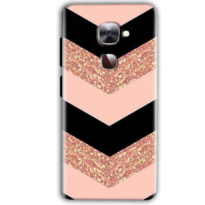 LeEco LeTv LE 2 Mobile Covers Cases Black down arrow Pattern - Lowest Price - Paybydaddy.com