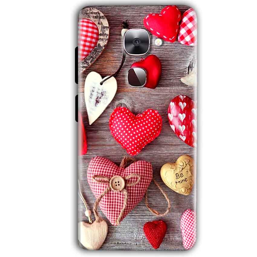 LeEco LeTv LE 2 Mobile Covers Cases Hearts- Lowest Price - Paybydaddy.com
