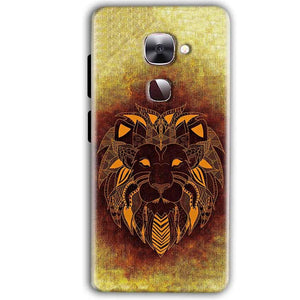 LeEco LeTv LE 2 Mobile Covers Cases Lion face art - Lowest Price - Paybydaddy.com