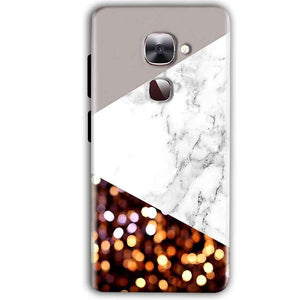 LeEco LeTv LE 2 Mobile Covers Cases MARBEL GLITTER - Lowest Price - Paybydaddy.com