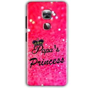 LeEco LeTv LE 2 Mobile Covers Cases PAPA PRINCESS - Lowest Price - Paybydaddy.com