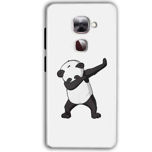 LeEco LeTv LE 2 Mobile Covers Cases Panda Dab - Lowest Price - Paybydaddy.com