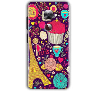 LeEco LeTv LE 2 Mobile Covers Cases Paris Sweet love - Lowest Price - Paybydaddy.com