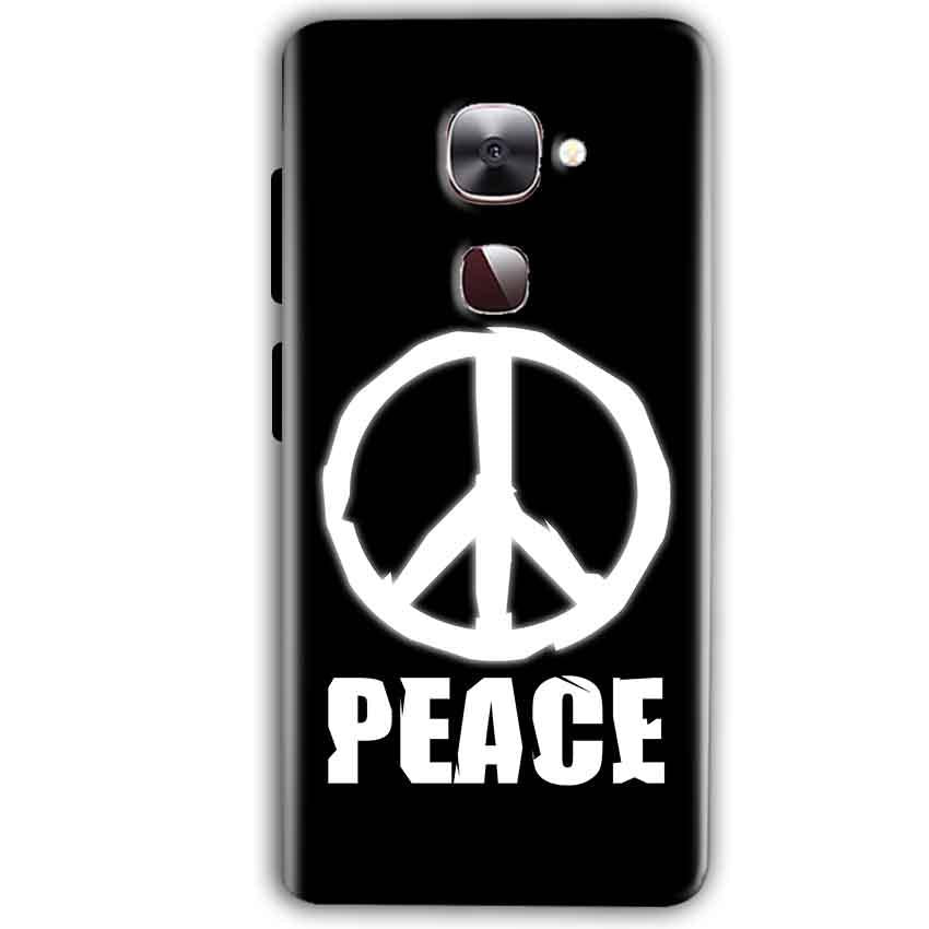 LeEco LeTv LE 2 Mobile Covers Cases Peace Sign In White - Lowest Price - Paybydaddy.com