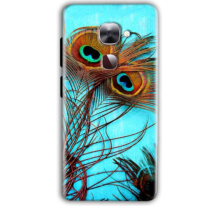 LeEco LeTv LE 2 Mobile Covers Cases Peacock blue wings - Lowest Price - Paybydaddy.com
