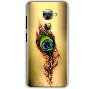 LeEco LeTv LE 2 Mobile Covers Cases Peacock coloured art - Lowest Price - Paybydaddy.com