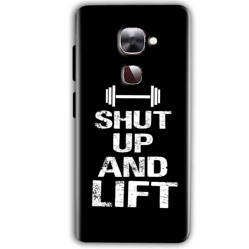 LeEco LeTv LE 2 Mobile Covers Cases Shut Up And Lift - Lowest Price - Paybydaddy.com