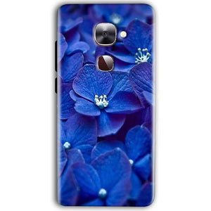 LeEco Le Max 2 Mobile Covers Cases Blue flower - Lowest Price - Paybydaddy.com