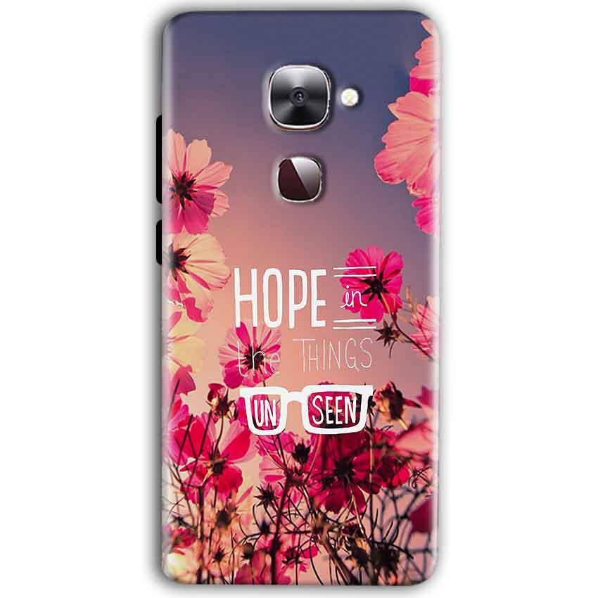 LeEco Le Max 2 Mobile Covers Cases Hope in the Things Unseen- Lowest Price - Paybydaddy.com