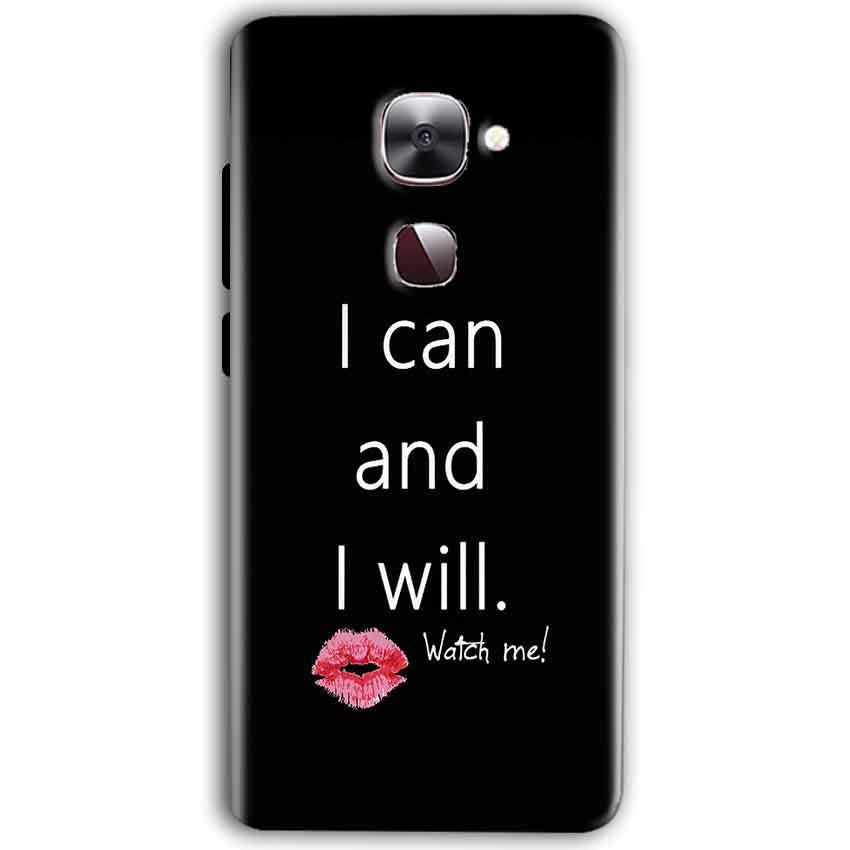 LeEco Le Max 2 Mobile Covers Cases i can and i will Lips - Lowest Price - Paybydaddy.com