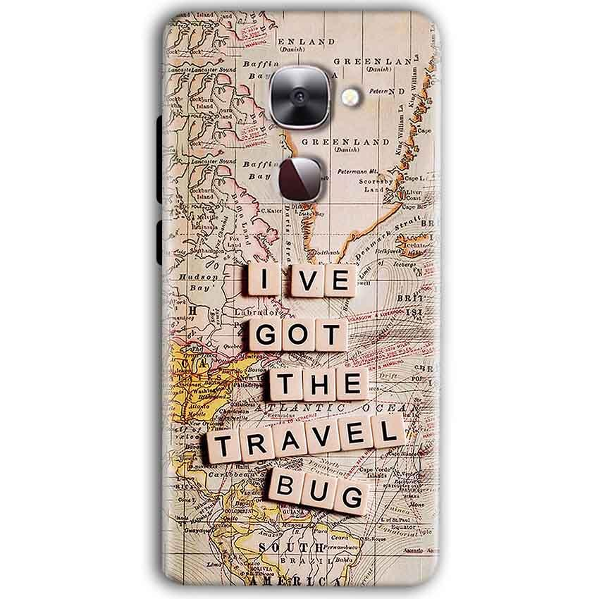 LeEco Le Max 2 Mobile Covers Cases Live Travel Bug - Lowest Price - Paybydaddy.com