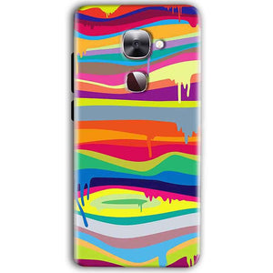 LeEco Le Max 2 Mobile Covers Cases Melted colours - Lowest Price - Paybydaddy.com