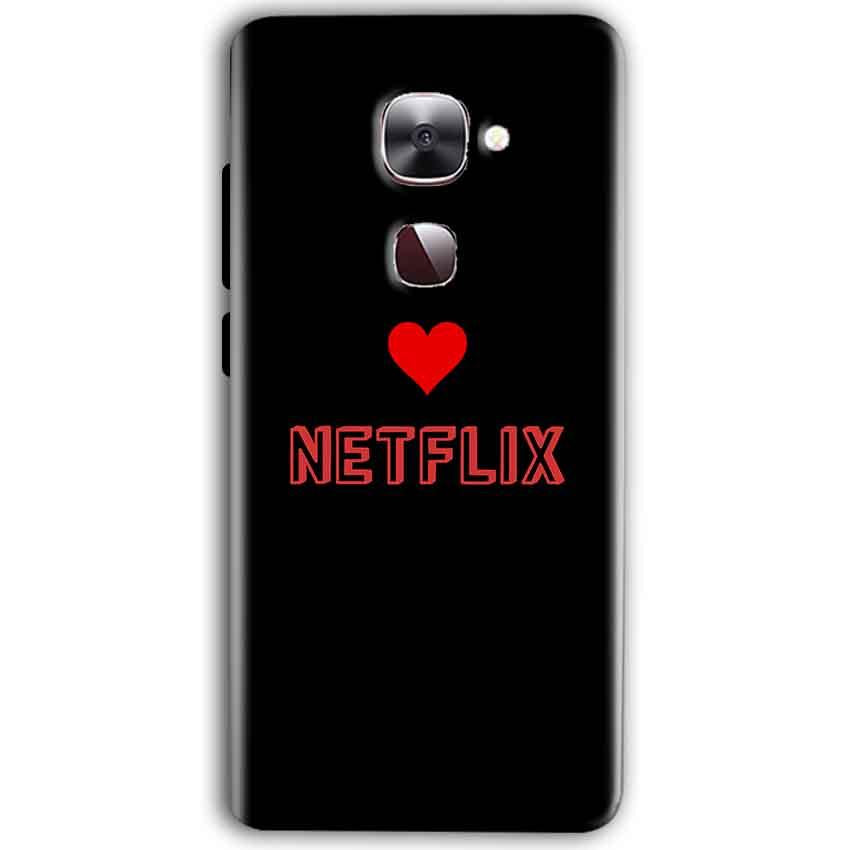 LeEco Le Max 2 Mobile Covers Cases NETFLIX WITH HEART - Lowest Price - Paybydaddy.com