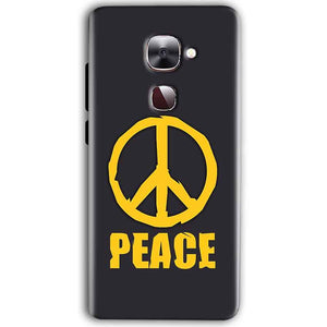 LeEco Le Max 2 Mobile Covers Cases Peace Blue Yellow - Lowest Price - Paybydaddy.com