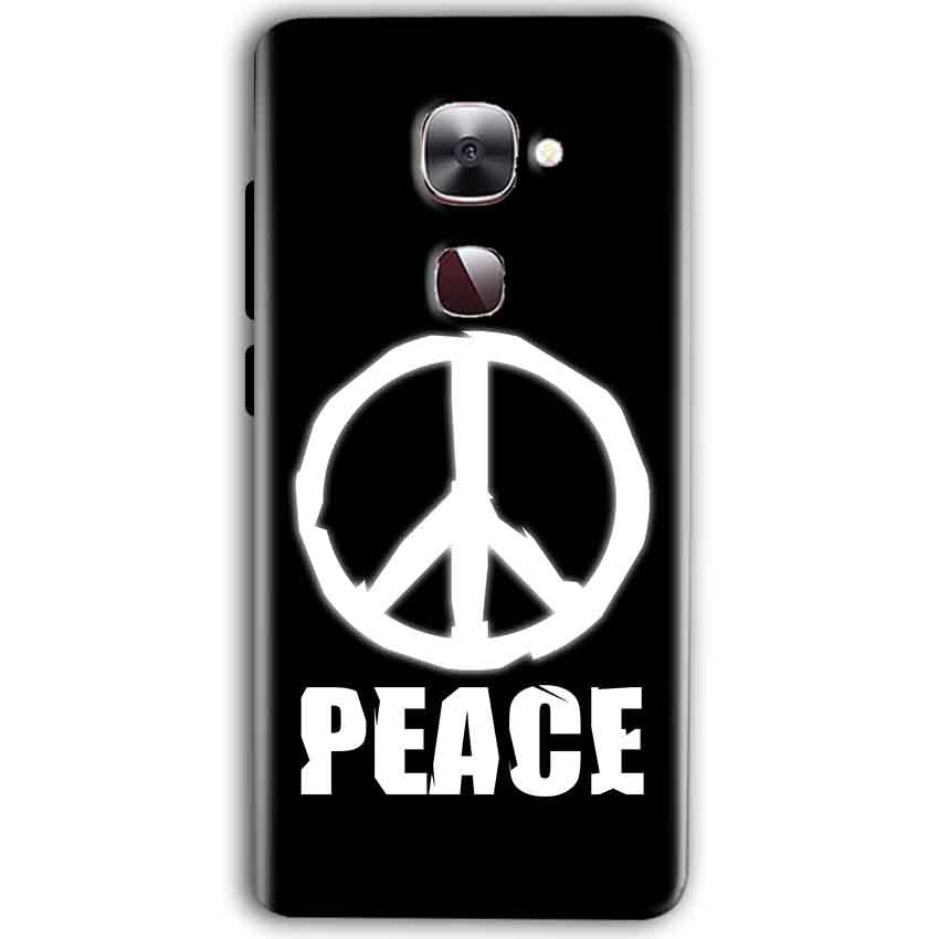LeEco Le Max 2 Mobile Covers Cases Peace Sign In White - Lowest Price - Paybydaddy.com