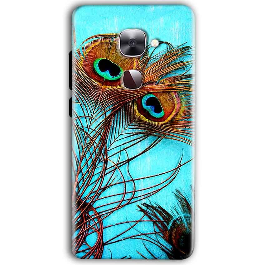 LeEco Le Max 2 Mobile Covers Cases Peacock blue wings - Lowest Price - Paybydaddy.com