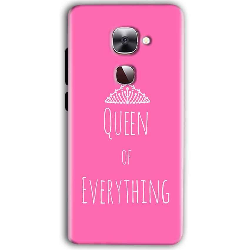 LeEco Le Max 2 Mobile Covers Cases Queen Of Everything Pink White - Lowest Price - Paybydaddy.com