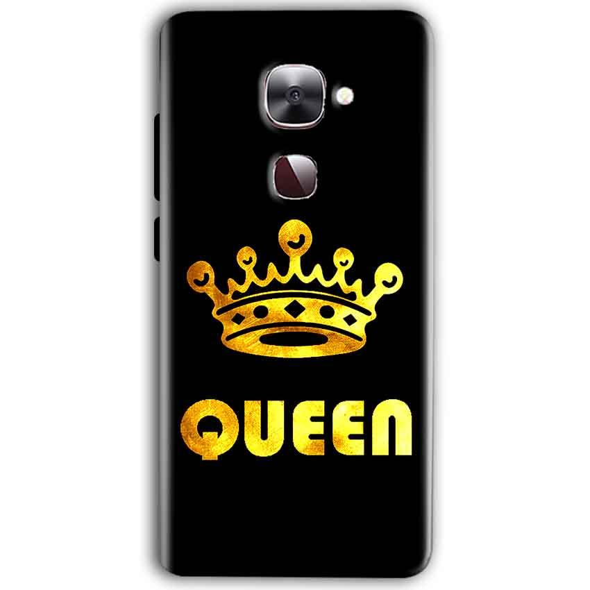 LeEco Le Max 2 Mobile Covers Cases Queen With Crown in gold - Lowest Price - Paybydaddy.com