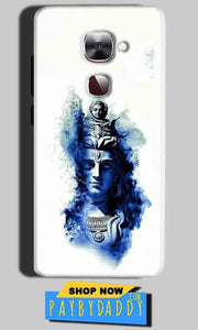 LeEco Le Max 2 Mobile Covers Cases Shiva Blue White - Lowest Price - Paybydaddy.com