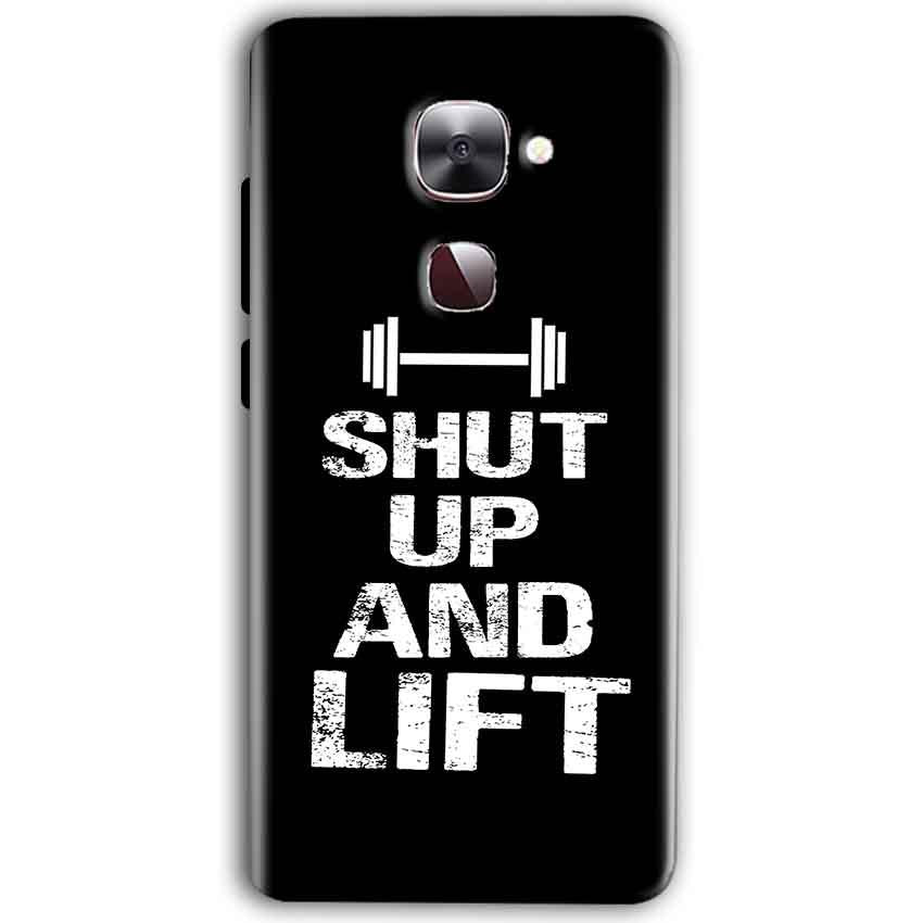 LeEco Le Max 2 Mobile Covers Cases Shut Up And Lift - Lowest Price - Paybydaddy.com