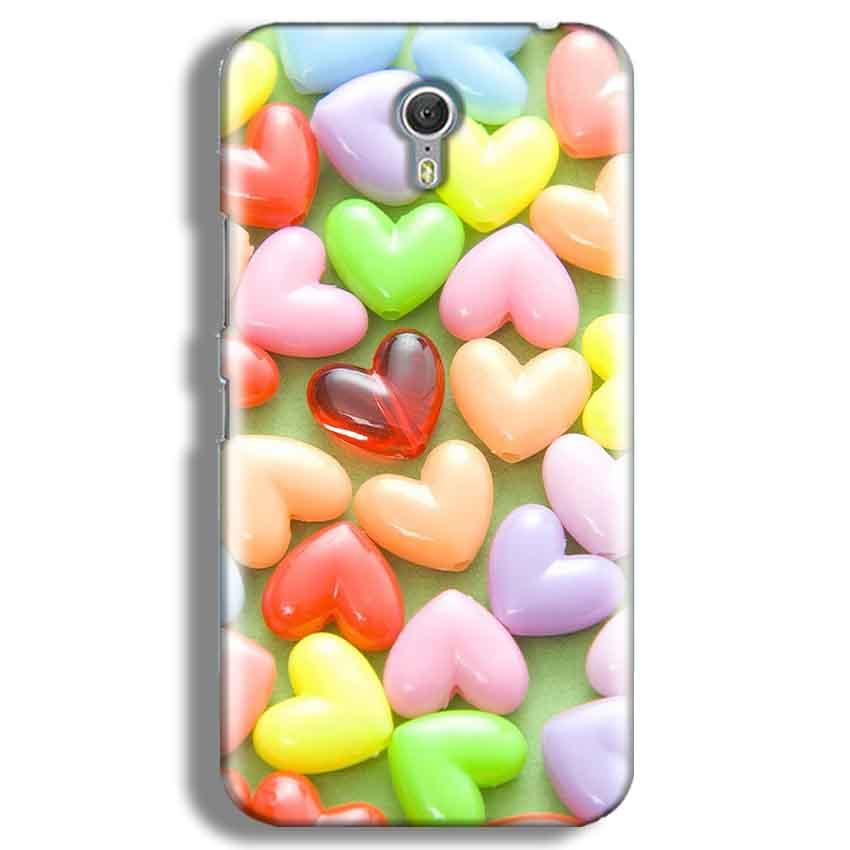 Lenevo ZUK Z1 Mobile Covers Cases Heart in Candy - Lowest Price - Paybydaddy.com