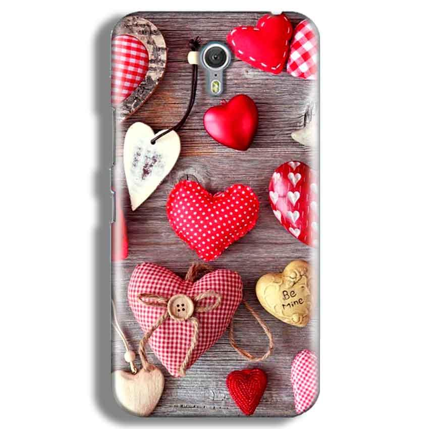 Lenevo ZUK Z1 Mobile Covers Cases Hearts- Lowest Price - Paybydaddy.com
