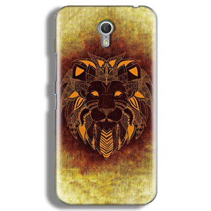 Lenevo ZUK Z1 Mobile Covers Cases Lion face art - Lowest Price - Paybydaddy.com