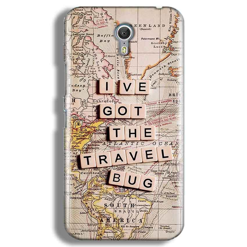 Lenevo ZUK Z1 Mobile Covers Cases Live Travel Bug - Lowest Price - Paybydaddy.com