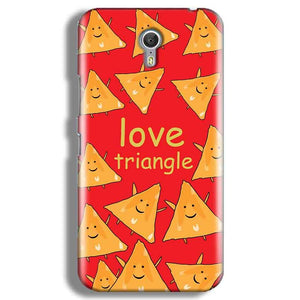 Lenevo ZUK Z1 Mobile Covers Cases Love Triangle - Lowest Price - Paybydaddy.com