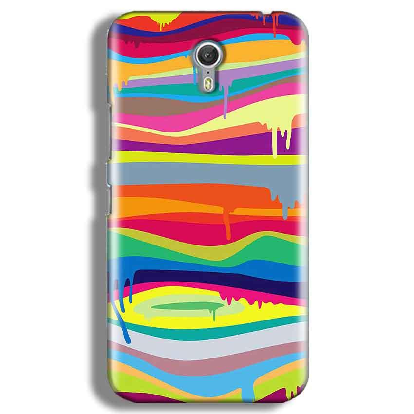 Lenevo ZUK Z1 Mobile Covers Cases Melted colours - Lowest Price - Paybydaddy.com
