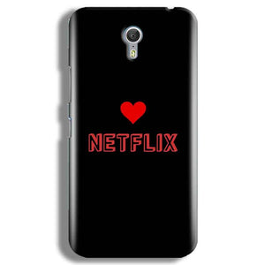 Lenevo ZUK Z1 Mobile Covers Cases NETFLIX WITH HEART - Lowest Price - Paybydaddy.com