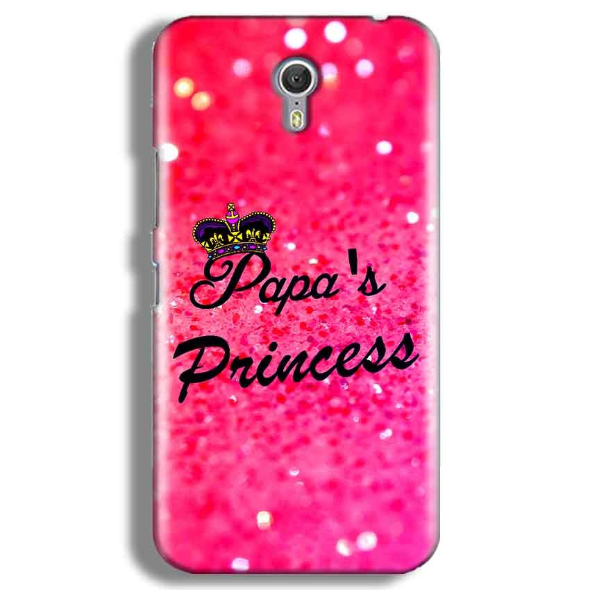 Lenevo ZUK Z1 Mobile Covers Cases PAPA PRINCESS - Lowest Price - Paybydaddy.com